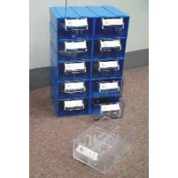 TOOL, COMPONENT STORAGE CABINET 12 SECTIONS