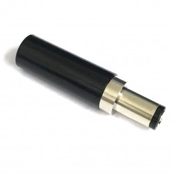 DC POWER PLUG 2.5MM X 5.5MM NO STRAIN RELIEF
