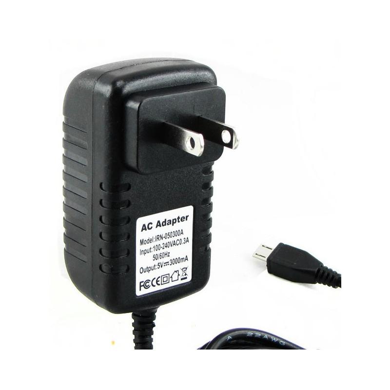 RASPBERRY PI POWER ADAPTER 5V 3A W/USB JACK