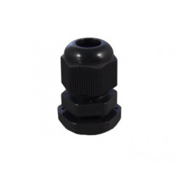 FITTING WATER PROOF PG-9 BLACK