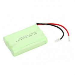 BATTERY,CORDLESS PHONE, NiMH,3.6V,800mAH, 2-PIN