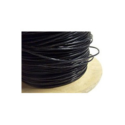 TEFLON HOOK UP WIRE - UL1332 FEP AWG18 BLACK
