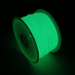 3D PRINTER FILAMENT PLA 1.75MM GLOW IN DARK 1KG