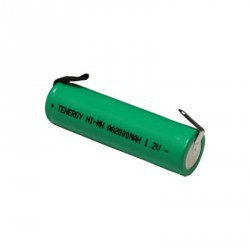 "BATTERIES GP80AAH-0 800MAH AAA WITH 3/4"" TAG"