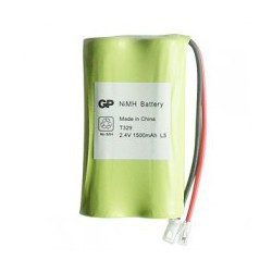 BATTERIES GP60AAK2BMU 2.4V 0.6A NI-CD