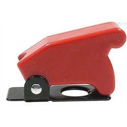 TOGGLE SWITCH SAFETY COVER (RED)
