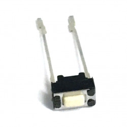 TACK SWITCH 6X5X3MM W/SOLDER LEADS