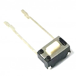 TACTILE SWITCH 6X5X3MM W/ SOLDER LEADS RIGHT ANGLE