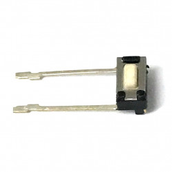 TACK SWITCH 6X5X3MM W/ SOLDER LEADS RIGHT ANGLE