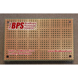PADBOARD-1 PAD PER HOLE, 2 SIDED, PLATED HOLES 80X50MM