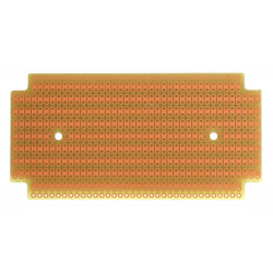 PROTOBOARD-1590B, 1 SIDED, 2 HOLE STRIPS, FITS HAMMOND 1590B