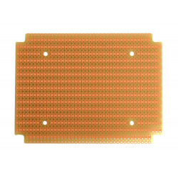 PROTOBOARD-1590BB 1 SIDED, 2 HOLE STRIPS, FITS HAMMOND 1590B