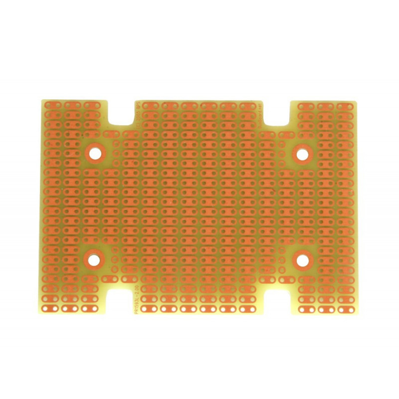 PROTOBOARD-1593L, 1 SIDED, 2 HOLE STRIPS, FITS HAMMOND 1593L