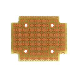 PROTOBOARD-1593P, 1 SIDE, 2 HOLE STRIPS, FITS HAMMOND 1593P
