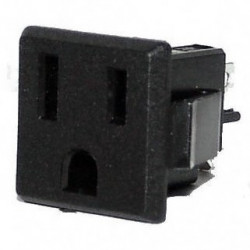 POWER SOCKET NEMA 5-15R CHASSIS MOUNT SLF3022