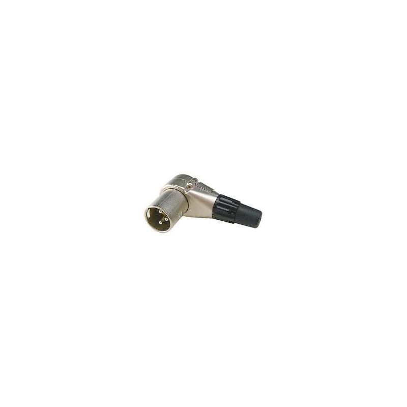 RIGHT ANGLE MALE XLR CONNECTOR NC3MRC