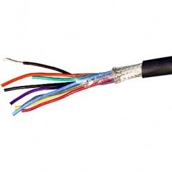 CABLE 8X12/0.18MM SHIELDED CABLE