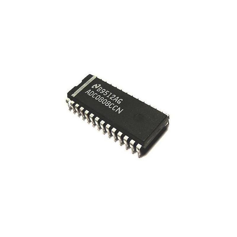 IC ADC0808CCN ANALOG - DIGITAL CONVERTER