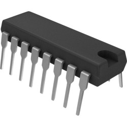 IC CMOS 4508 -DUAL 4 BIT LATCH W TRISTATE OUTPUTS