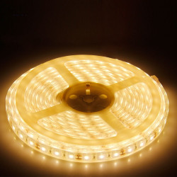 LED STRIP, 5050, 12V, W/ TUBE, WARM WHITE SOFT
