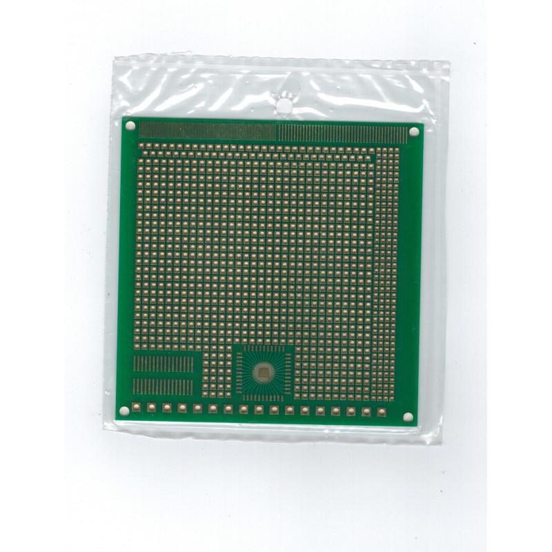 PROTOTYPING PCB, 10x10MM, MULTI PAD STYLE