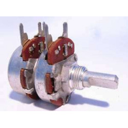 POTENTIOMETER 10KX2(B) 24MM LUG