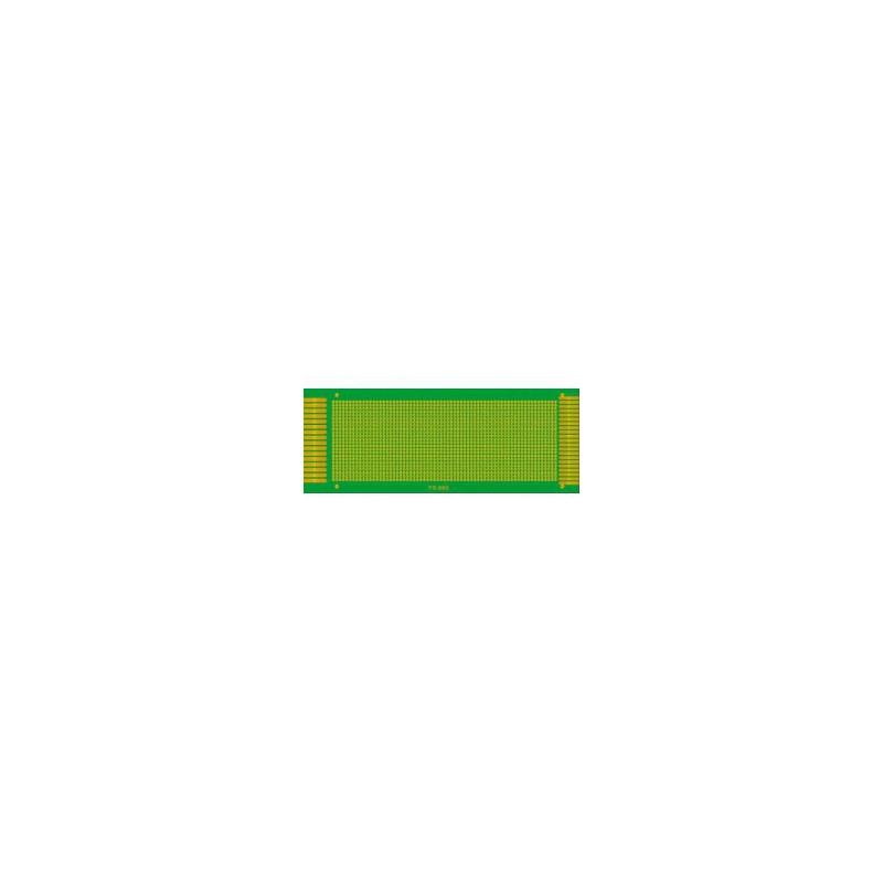 PRINTED CIRCUIT BOARD FIBERGLASS GREEN YS-10X22CM