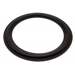 "SPEAKER RUBBER SURROUND 8"" OD8-3/4"" ID6-1/2"""