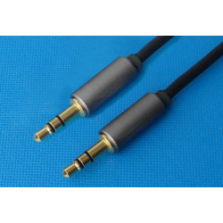 AUDIO CABLE, 3.5MM(M) ST TO 3.5MM(M) ST, AQ501, 1.8M