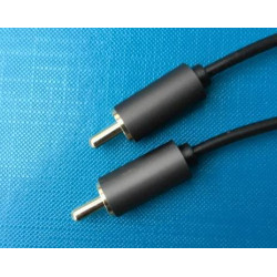 AUDIO CABLE, RCA(M) TO RCA(M), AQ507, 1.8M