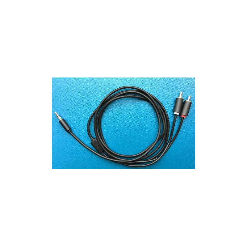 AUDIO CABLE, 3.5MM(M) ST TO 2 RCA(M) 1.8M