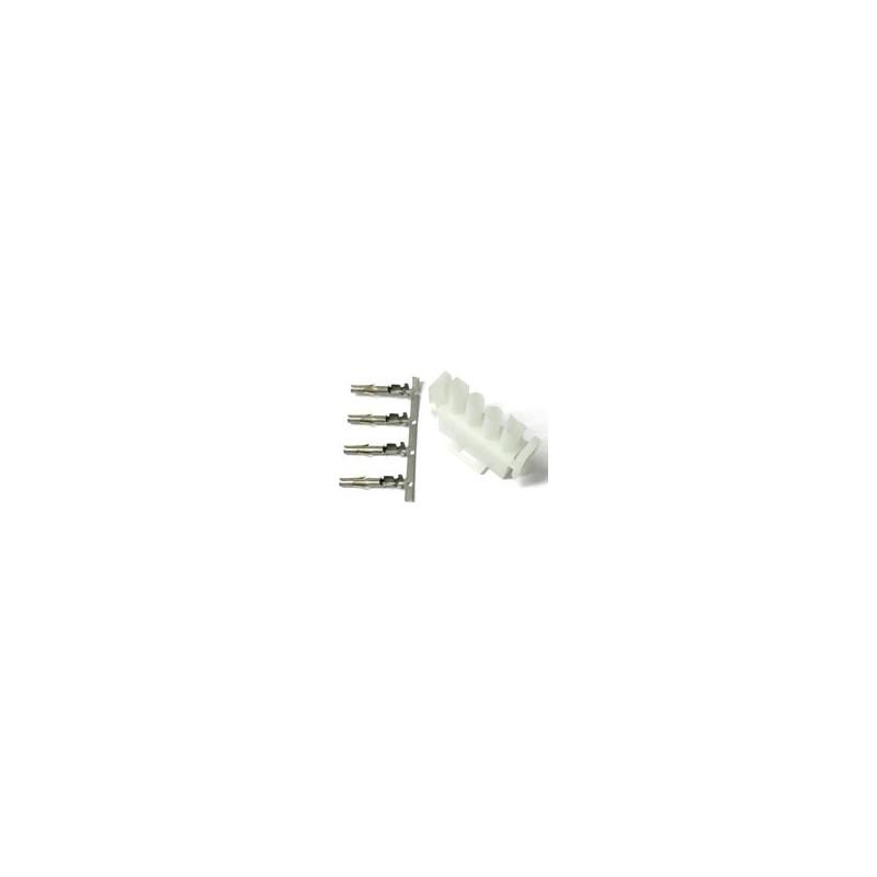 CONNECTORS LOCK-N-MATE 4PIN PLUG W/PINS