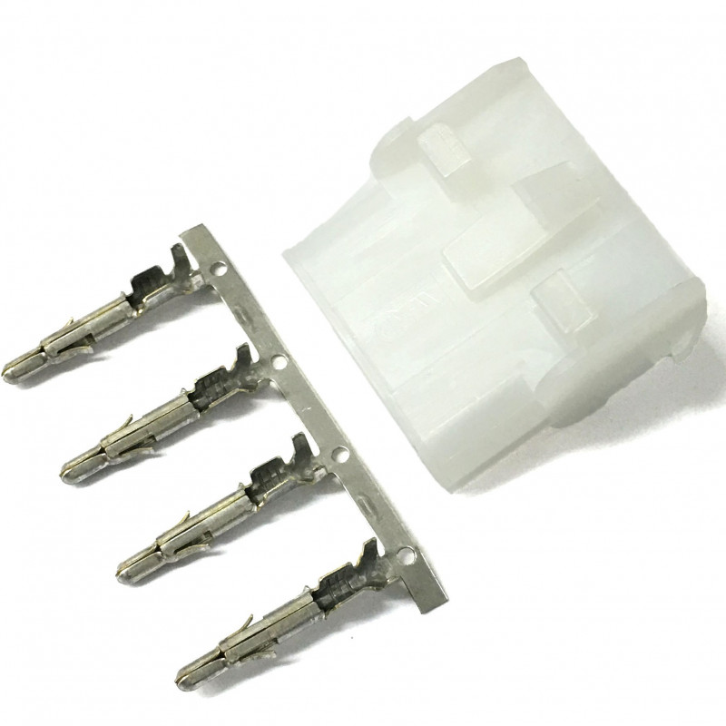 CONNECTORS LOCK-N-NATE 4PIN SOCKET W/PINS