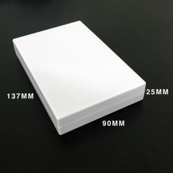 ENCLOSURE, PLASTIC BOX 135X90X24MM BEIGE