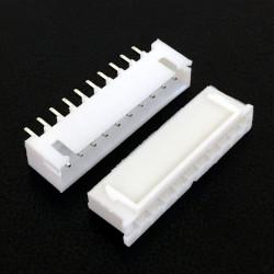 CONNECTORS, JST, XHS, 10PIN, 2.50MM (M/F) 4 SETS