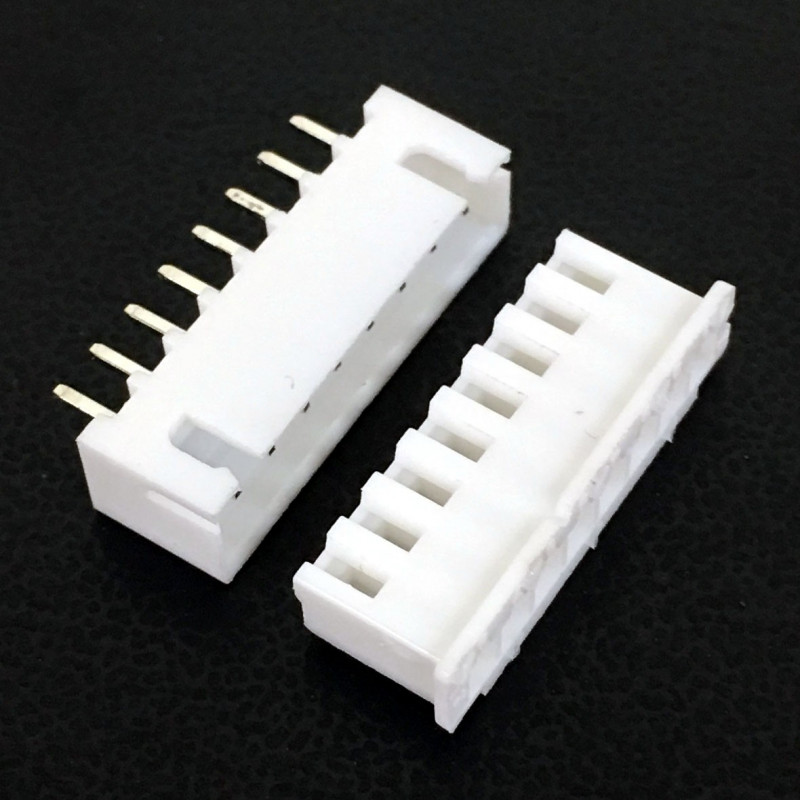 CONNECTORS, JST, XHS, 8PIN, 2.50MM (M/F) 4 SETS