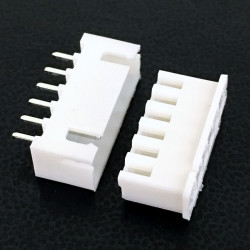 CONNECTORS, JST, XHS, 6PIN, 2.50MM (M/F) 4 SETS