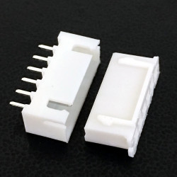 CONNECTORS, JST, XHS, 6PIN, 2.50MM (M/F) 4 SETS