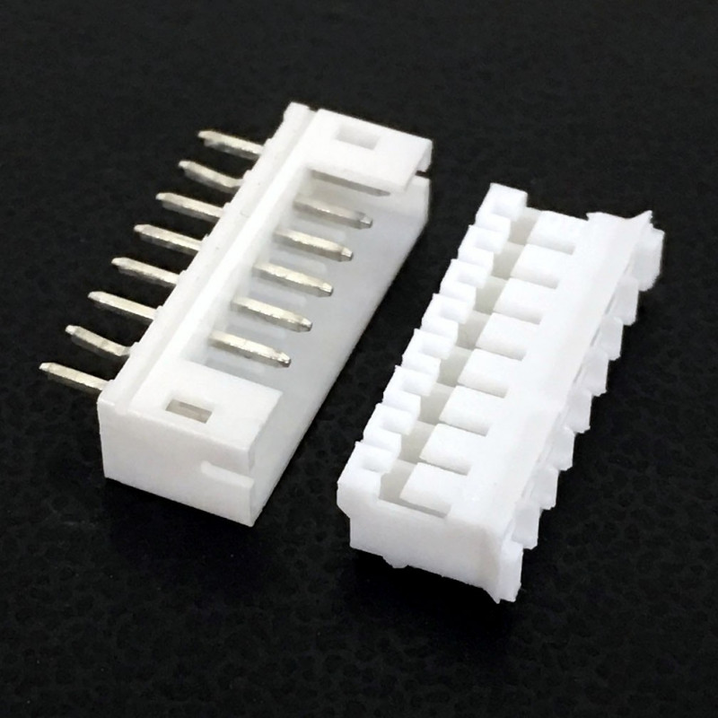 CONNECTORS, JST, XHS, 8PIN, 2MM (M/F) 4 SETS