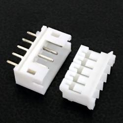 CONNECTORS, JST, XHS, 5PIN, 2MM (M/F) 4 SETS