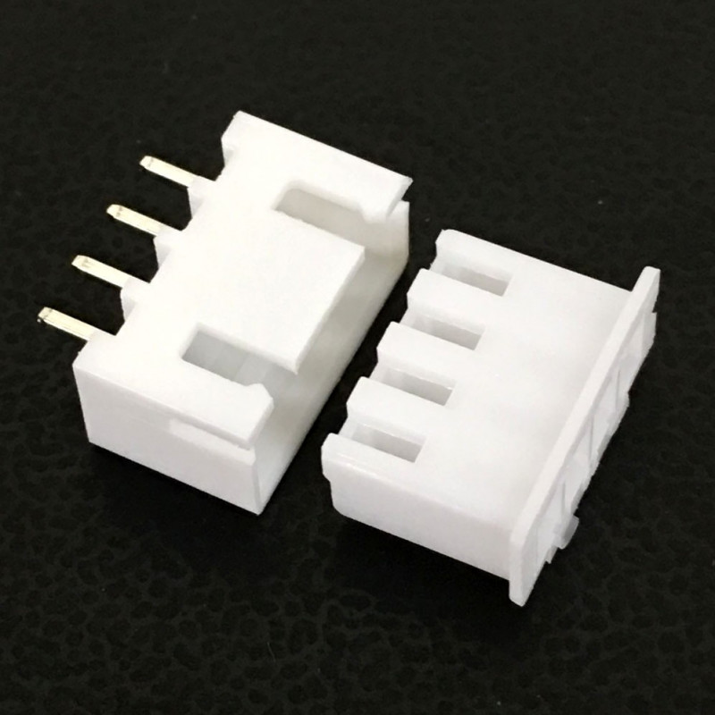 CONNECTORS, JST, XHS, 4PIN, 2.50MM (M/F) 4 SETS