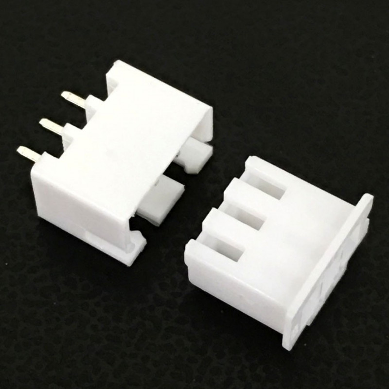 CONNECTORS, JST, XHS, 3PIN, 2.50MM (M/F) 4 SETS