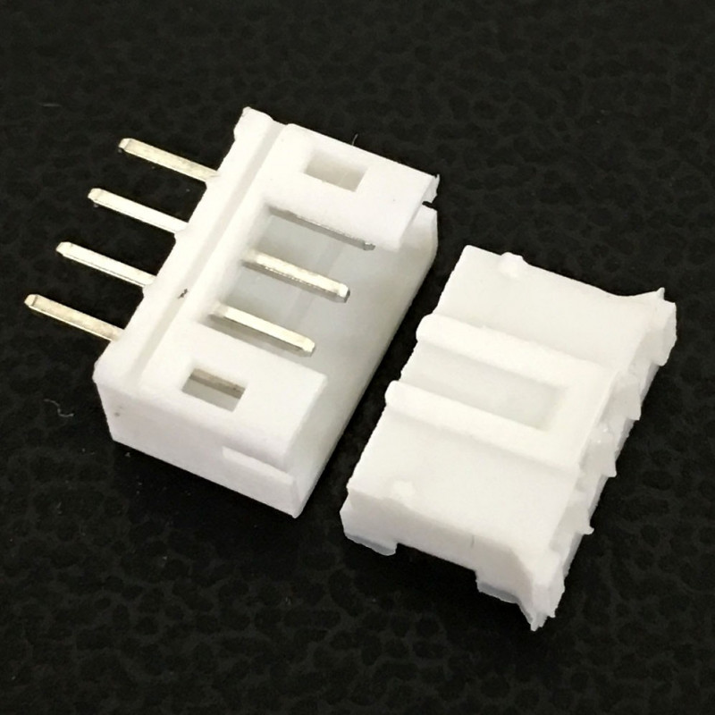 CONNECTORS, JST, XHS, 4PIN, 2MM (M/F) 4 SETS