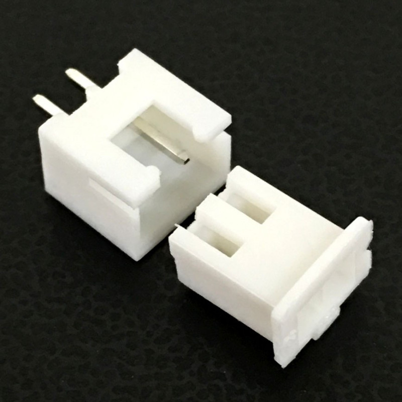 CONNECTORS, JST, XHS, 2PINS, 2.50MM (M/F) 4 SETS