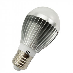 LED BULB, E27, 110V, 6W, COLD WHITE