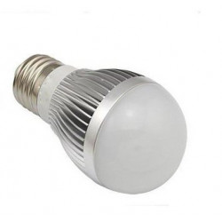 LED BULB, E27, 110V, 6W, YELLOW WHITE
