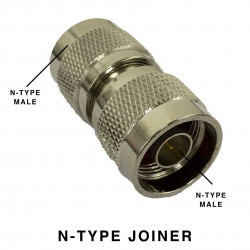 N-TYPE MALE AND N-TYPE MALE ADAPTER