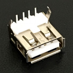 USB A FEMALE PCB CONNECTOR
