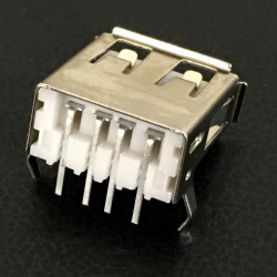 USB A(F) PCB CONNECTORS RIGHT ANGLE