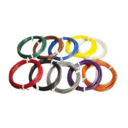 HOOK UP WIRE 22AWG - 10FT/PKG